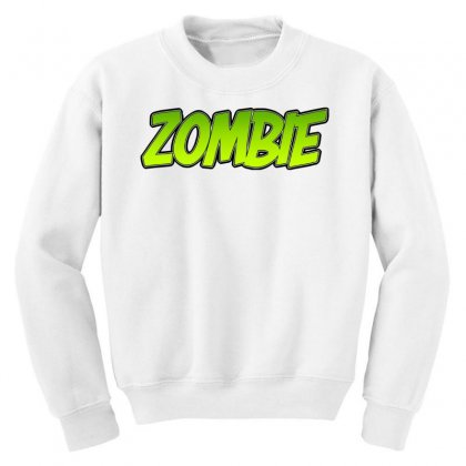 Zombie Youth Sweatshirt Designed By Tiococacola