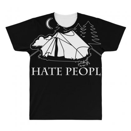 I Hate People T Shirt All Over Men's T-shirt Designed By Hung