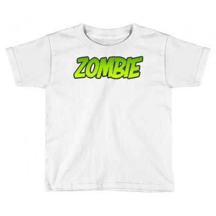 Zombie Toddler T-shirt Designed By Tiococacola