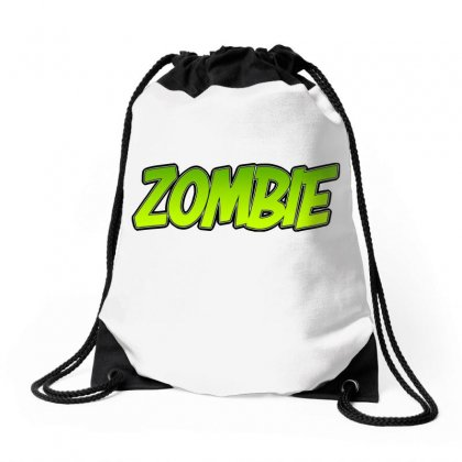 Zombie Drawstring Bags Designed By Tiococacola