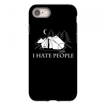 I Hate People T Shirt Iphone 8 Case Designed By Hung