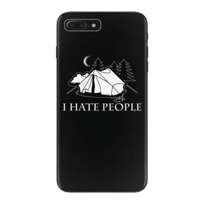 I Hate People T Shirt Iphone 7 Plus Case Designed By Hung