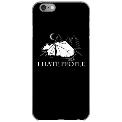 I Hate People T Shirt Iphone 6/6s Case Designed By Hung