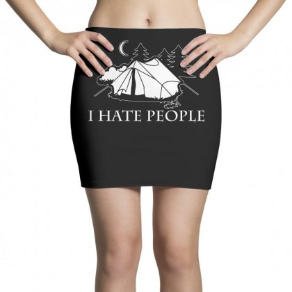 I Hate People T Shirt Mini Skirts Designed By Hung