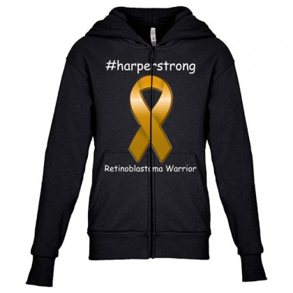 Harperstrong T Shirt Youth Zipper Hoodie Designed By Hung