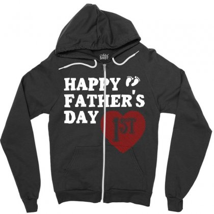 Happy 1st Fathers Day T Shirt Zipper Hoodie Designed By Hung