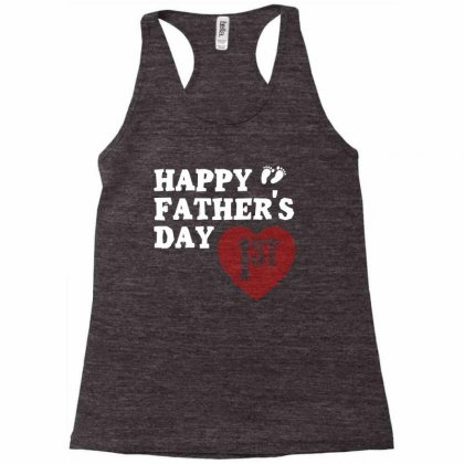 Happy 1st Fathers Day T Shirt Racerback Tank Designed By Hung