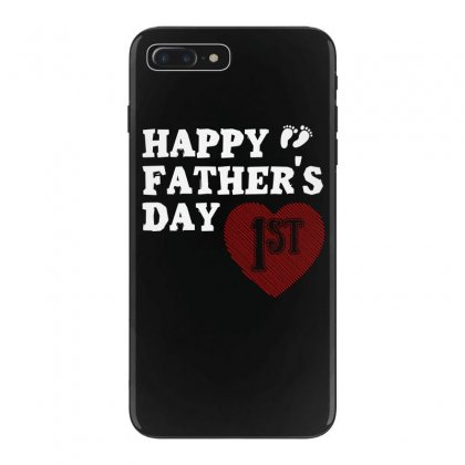 Happy 1st Fathers Day T Shirt Iphone 7 Plus Case Designed By Hung