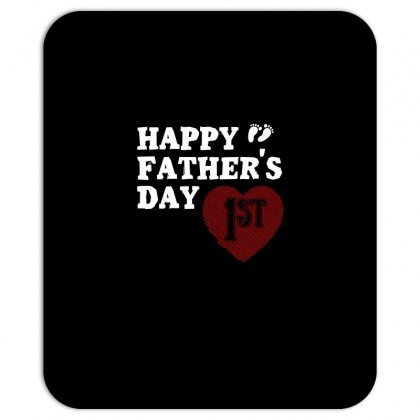 Happy 1st Fathers Day T Shirt Mousepad Designed By Hung