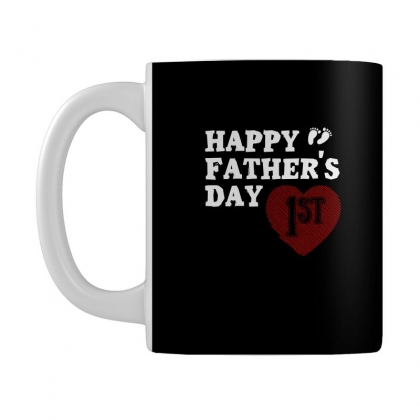 Happy 1st Fathers Day T Shirt Mug Designed By Hung