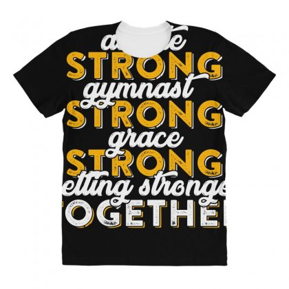 Getting Strong Together T Shirt All Over Women's T-shirt Designed By Hung