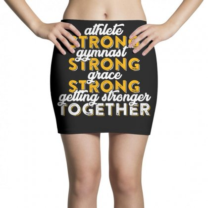 Getting Strong Together T Shirt Mini Skirts Designed By Hung
