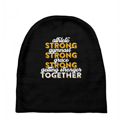 Getting Strong Together T Shirt Baby Beanies Designed By Hung