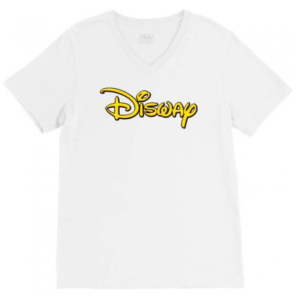 Disway V-neck Tee Designed By Tiococacola
