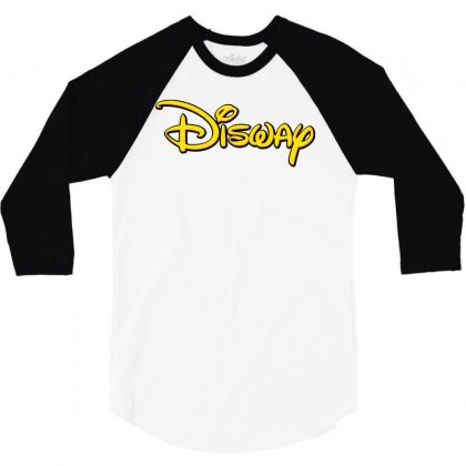 Disway 3/4 Sleeve Shirt Designed By Tiococacola