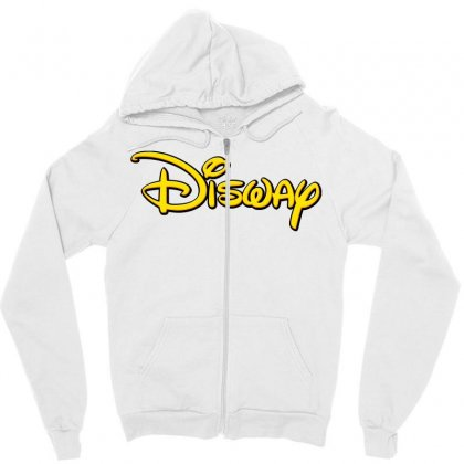Disway Zipper Hoodie Designed By Tiococacola