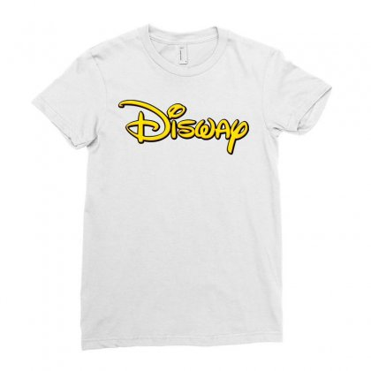 Disway Ladies Fitted T-shirt Designed By Tiococacola