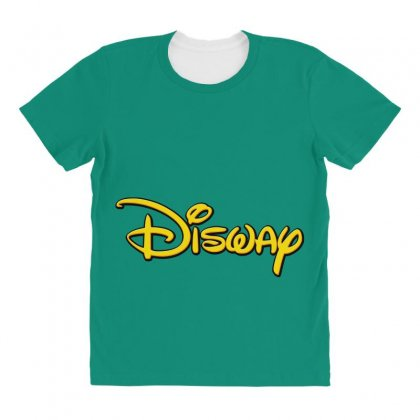 Disway All Over Women's T-shirt Designed By Tiococacola