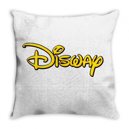 Disway Throw Pillow Designed By Tiococacola