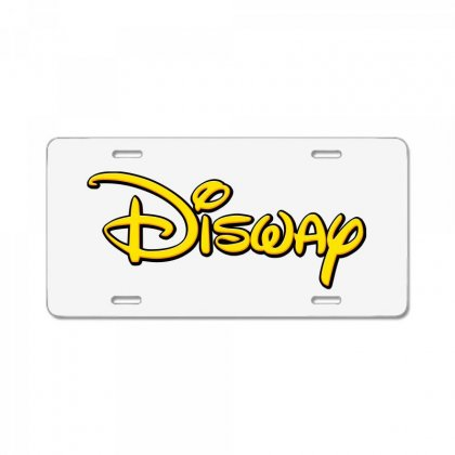 Disway License Plate Designed By Tiococacola