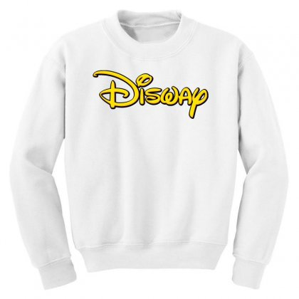 Disway Youth Sweatshirt Designed By Tiococacola