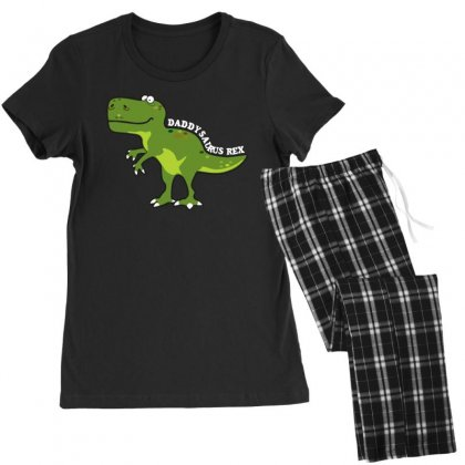 Daddysaurus Rex T Shirt Women's Pajamas Set Designed By Hung