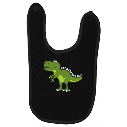 Daddysaurus Rex T Shirt Baby Bibs Designed By Hung