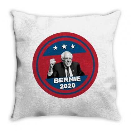 Bernie 2020 Throw Pillow Designed By Seniha