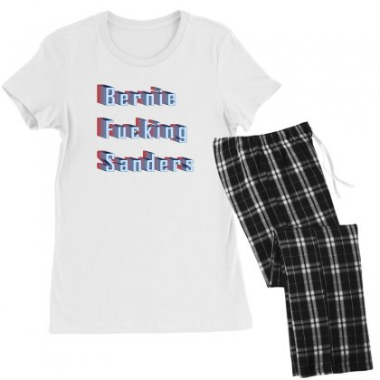 Bernie Fucking Sanders Women's Pajamas Set Designed By Seniha
