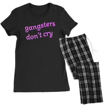Gangsters Dont Cry Women's Pajamas Set Designed By Seniha