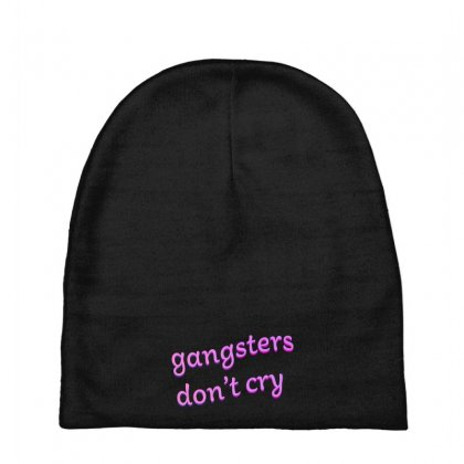 Gangsters Dont Cry Baby Beanies Designed By Seniha