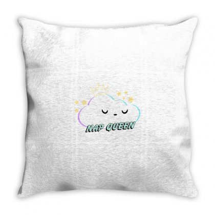 Nap Queen Throw Pillow Designed By Seniha