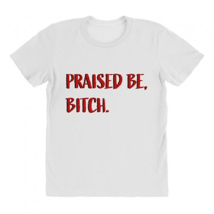 Praised Be Bitch All Over Women's T-shirt Designed By Seniha