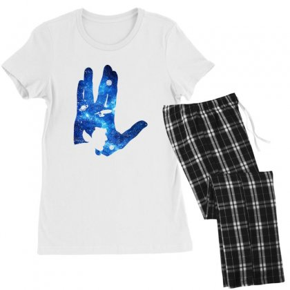 Vulcan Spock Star Trek For Dark Women's Pajamas Set Designed By Nurbetulk