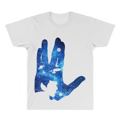 Vulcan Spock Star Trek For Dark All Over Men's T-shirt Designed By Nurbetulk