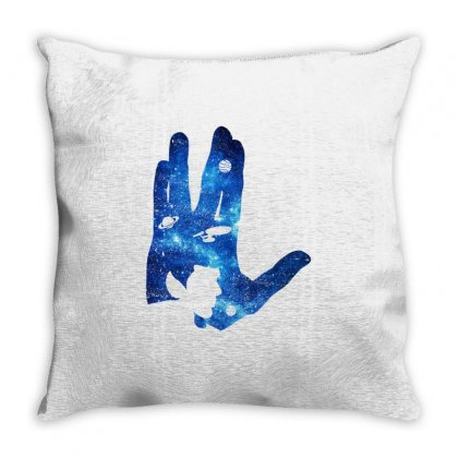 Vulcan Spock Star Trek For Dark Throw Pillow Designed By Nurbetulk