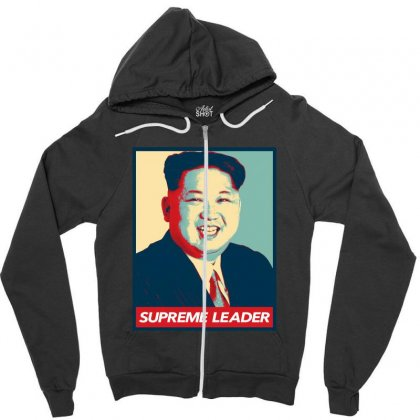 Supreme Leader Zipper Hoodie Designed By Nurbetulk