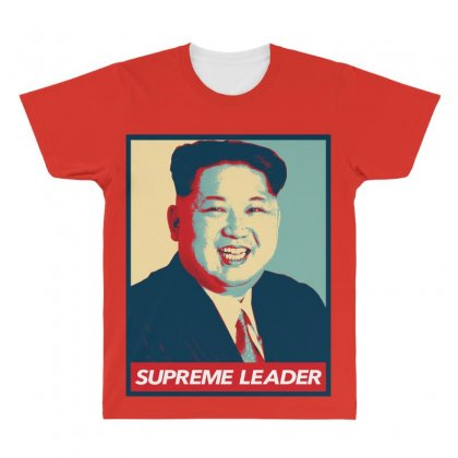 Supreme Leader All Over Men's T-shirt Designed By Nurbetulk