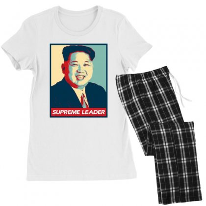 Supreme Leader Women's Pajamas Set Designed By Nurbetulk