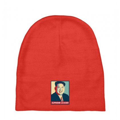 Supreme Leader Baby Beanies Designed By Nurbetulk