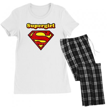 Supergirl Women's Pajamas Set Designed By Nurbetulk