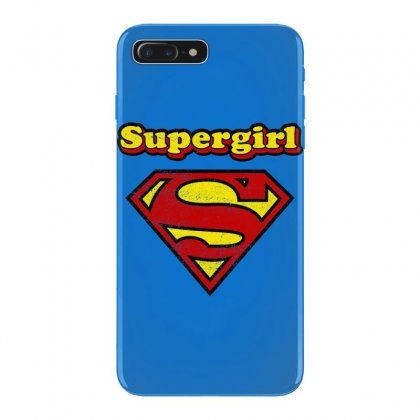 Supergirl Iphone 7 Plus Case Designed By Nurbetulk