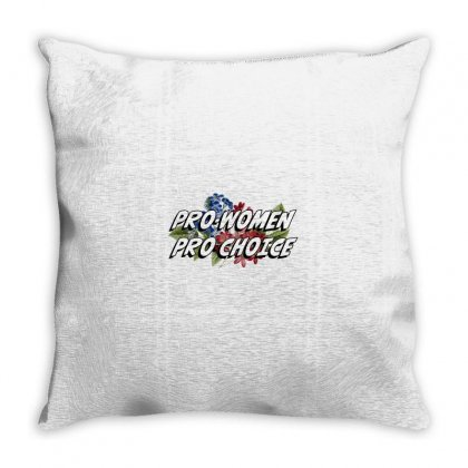 Pro Women Pro Choice Throw Pillow Designed By Seniha