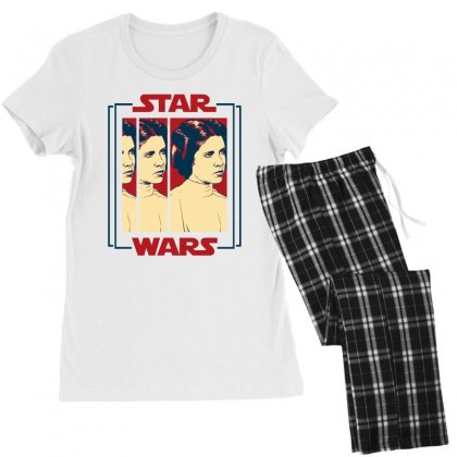 Star Wars Princess Leia For Light Women's Pajamas Set Designed By Nurbetulk