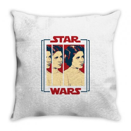 Star Wars Princess Leia For Light Throw Pillow Designed By Nurbetulk