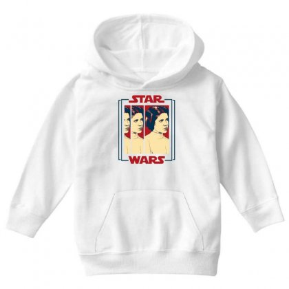 Star Wars Princess Leia For Light Youth Hoodie Designed By Nurbetulk