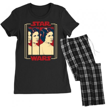 Star Wars Princess Leia For Dark Women's Pajamas Set Designed By Nurbetulk