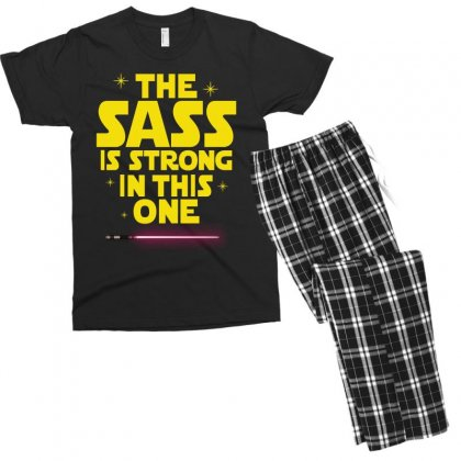 The Sass Is Strong In This One Men's T-shirt Pajama Set Designed By Sengul