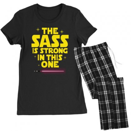 The Sass Is Strong In This One Women's Pajamas Set Designed By Sengul