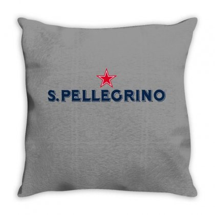 San Pellegrino For Light Throw Pillow Designed By Nurbetulk